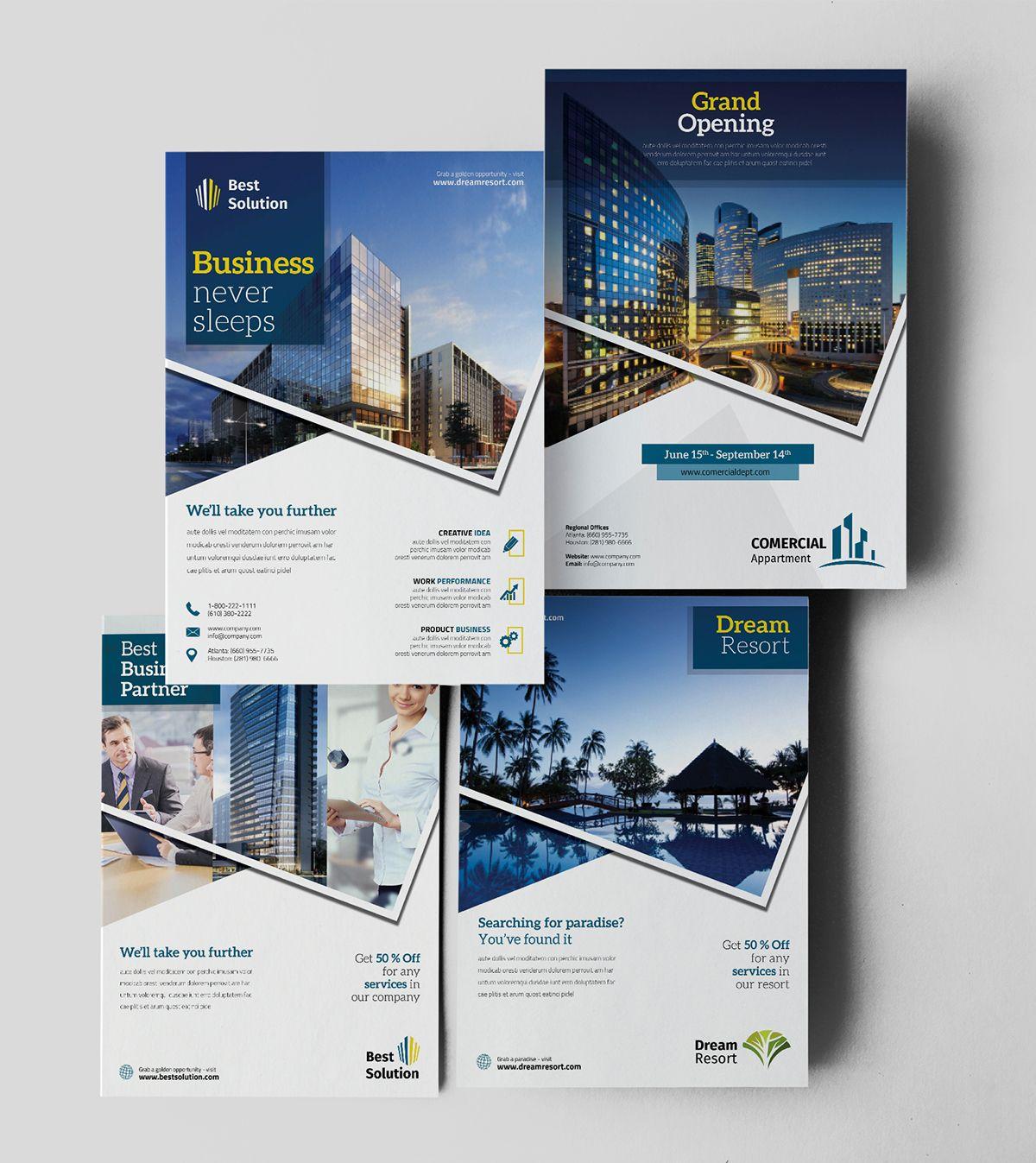 Business Ads Flyer on Behance | Poster | Pinterest