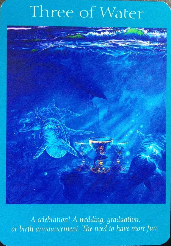 Three Of Water, Angel Tarot