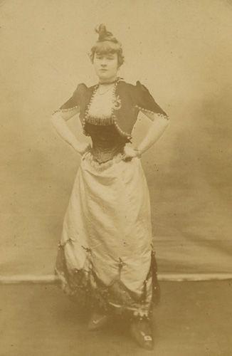 Adolphe Block France La Goulue Louise Weber In A Moulin Rouge