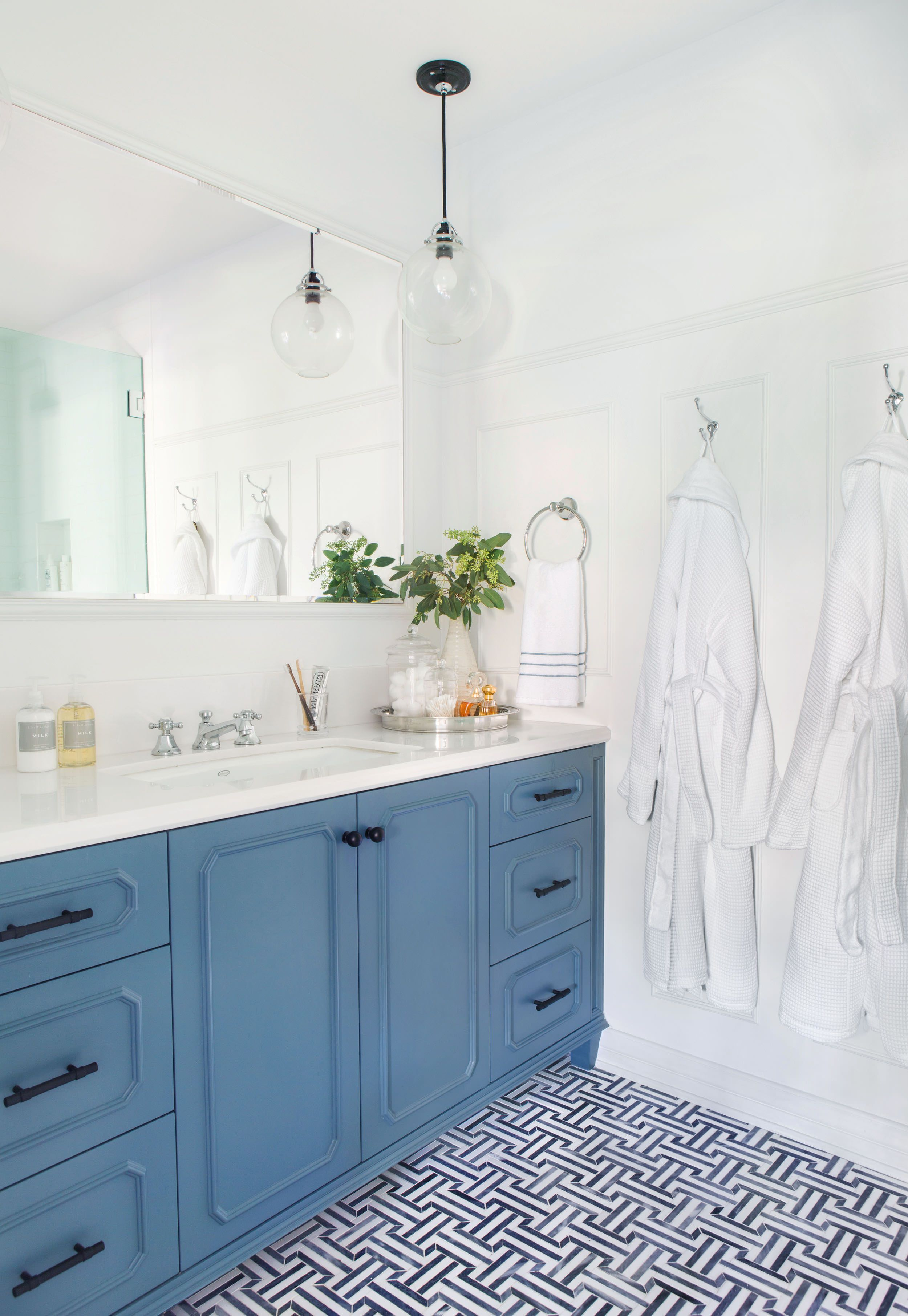 Silver Lake Hills Master Bath Reveal | Ravenna, White tiles and Bath