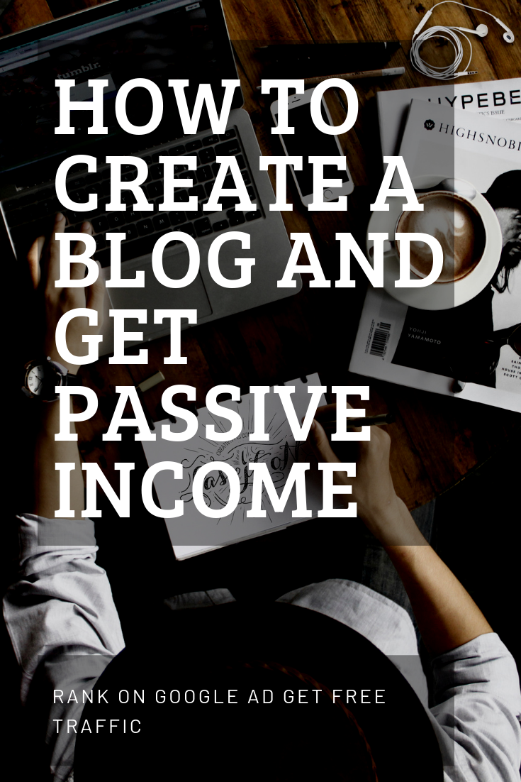 In This Article I Will Show You How To Create A Blog