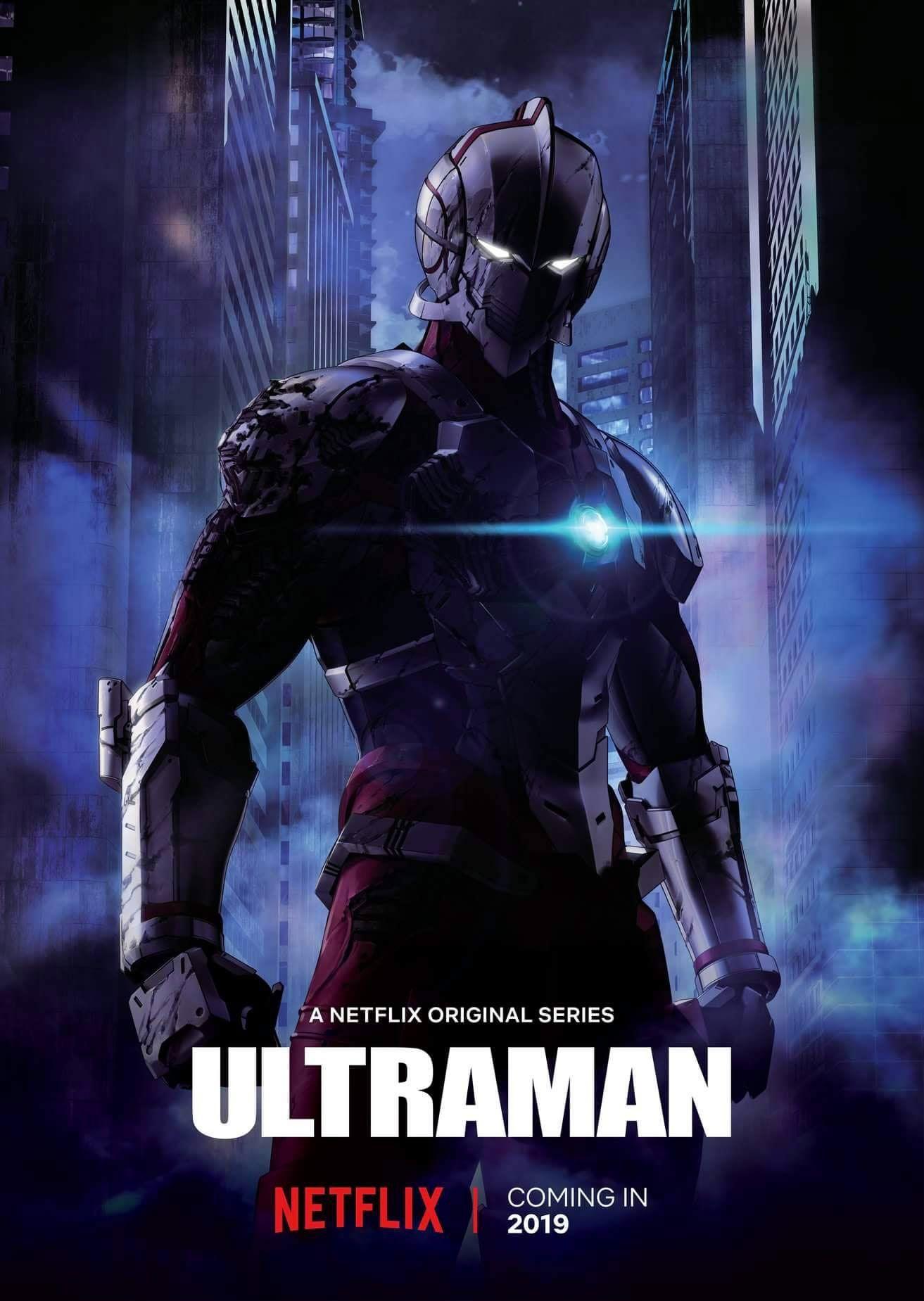 Ultraman sbarca su Netflix con la nuova serie animata nel