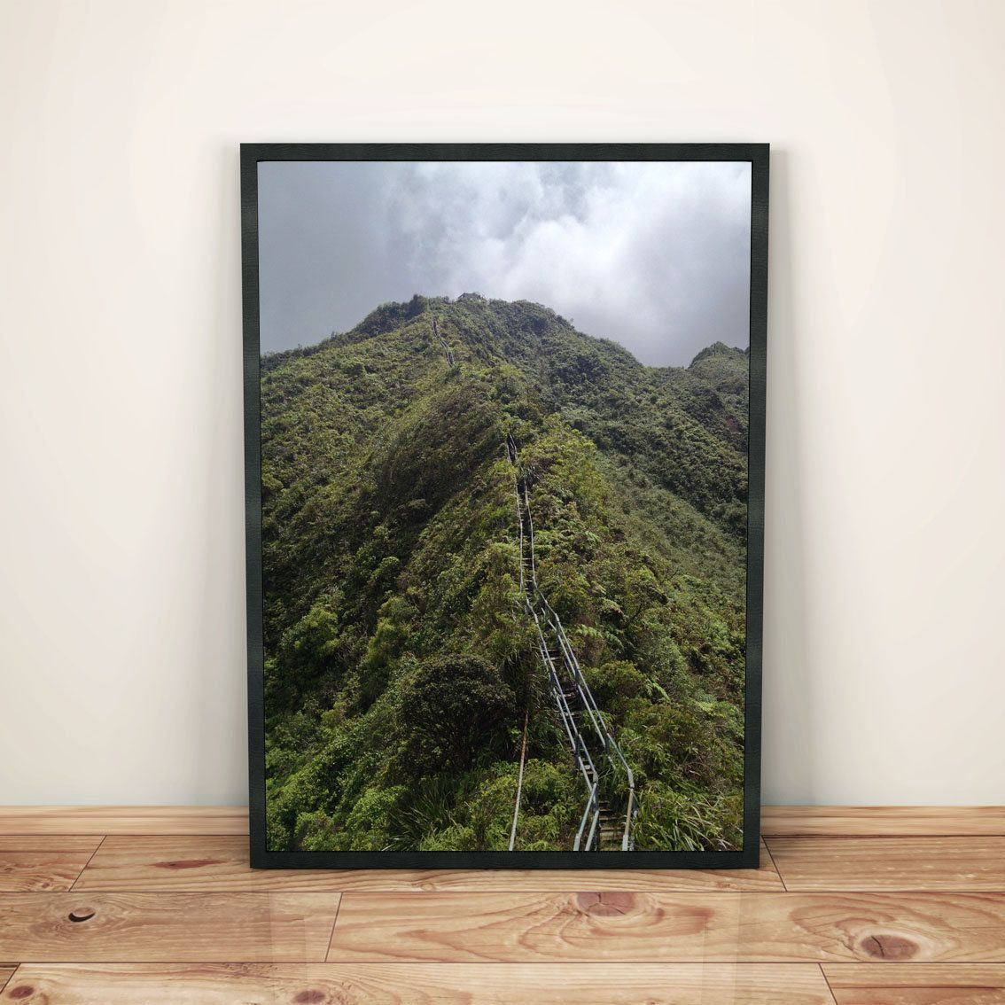 Haiku Stairs, Hawaii Printable Wall Art Digital Download