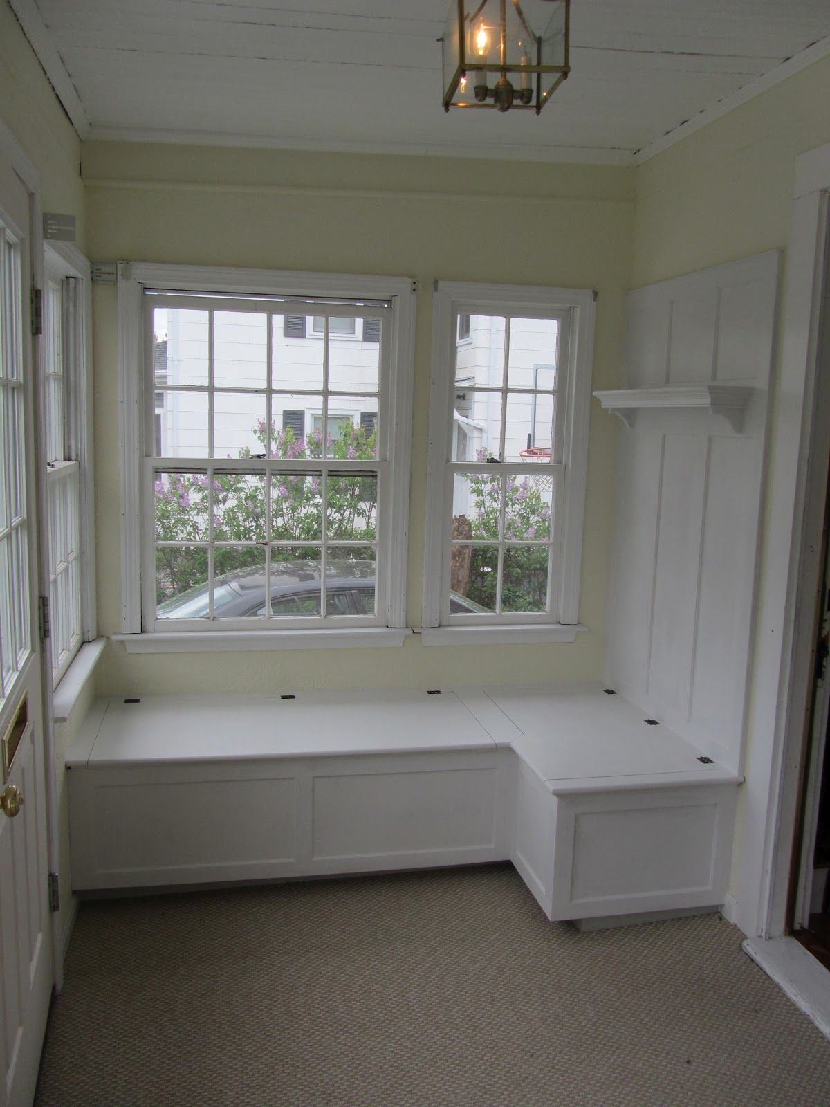 Kitchen Nook Nook With Extra Storage From Maximizing Kitchen Space Add A