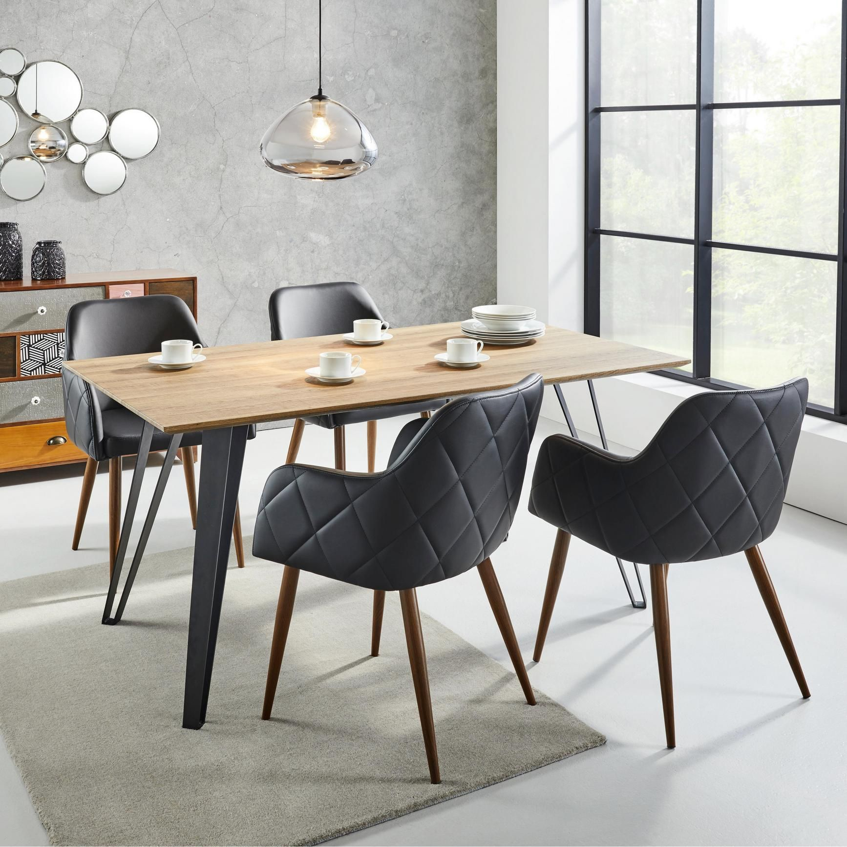 Esstische Mömax Tisch Gino Ca 160x90cm New Flat Table Dining Chairs Room