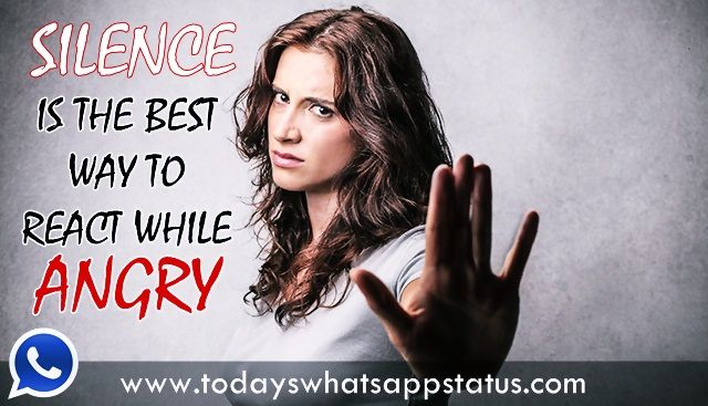 100 Best Angry Status for Whatsapp in English Angry