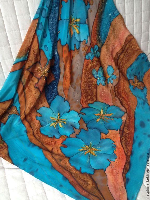 купить расписной платок