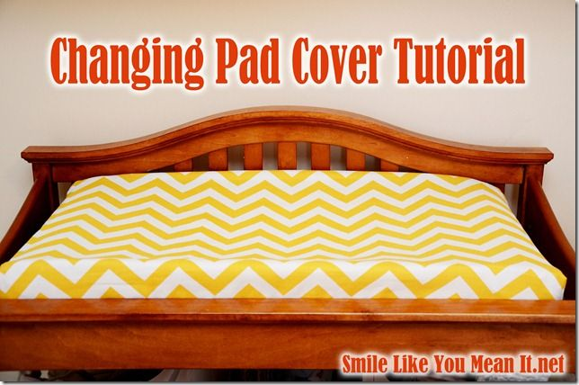 ChangingPadCoverTutorial Note To Myself Use More Elastic Next Gorgeous Changing Pad Cover Pattern