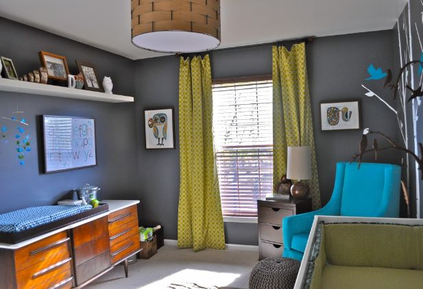 Good colors - like the gray walls J  C\u0027s rooms Pinterest