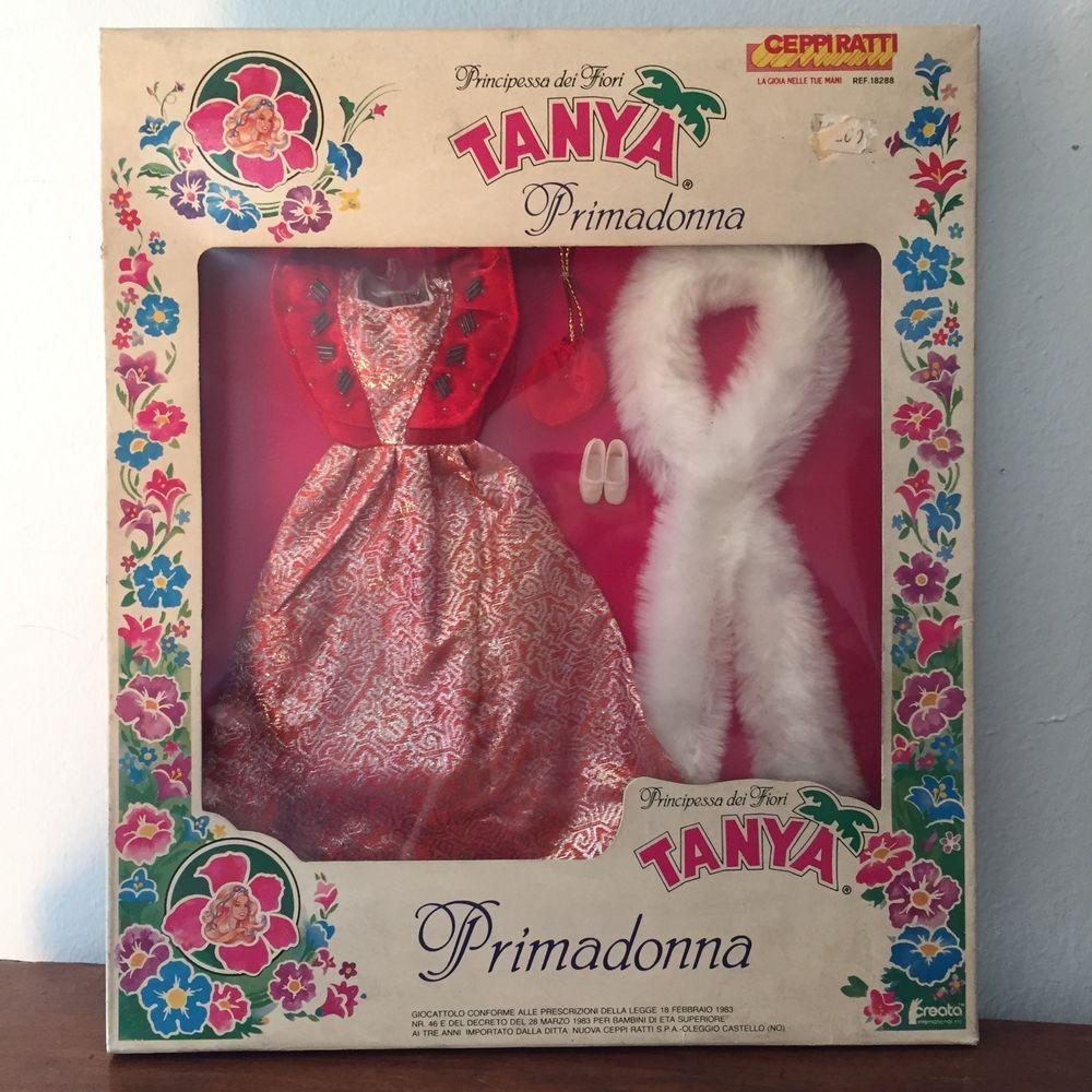 Fiori 80 Anni.Abito Tanya Principessa Dei Fiori Ceppiratti Creata Vintage Anni