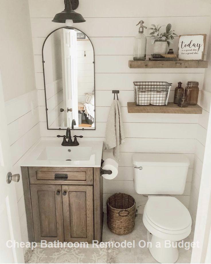 13 Creative Bathroom Organization And Diy Solutions 1 Bathrooms Remodel Small Bathroom Remodel Rustic Bathrooms