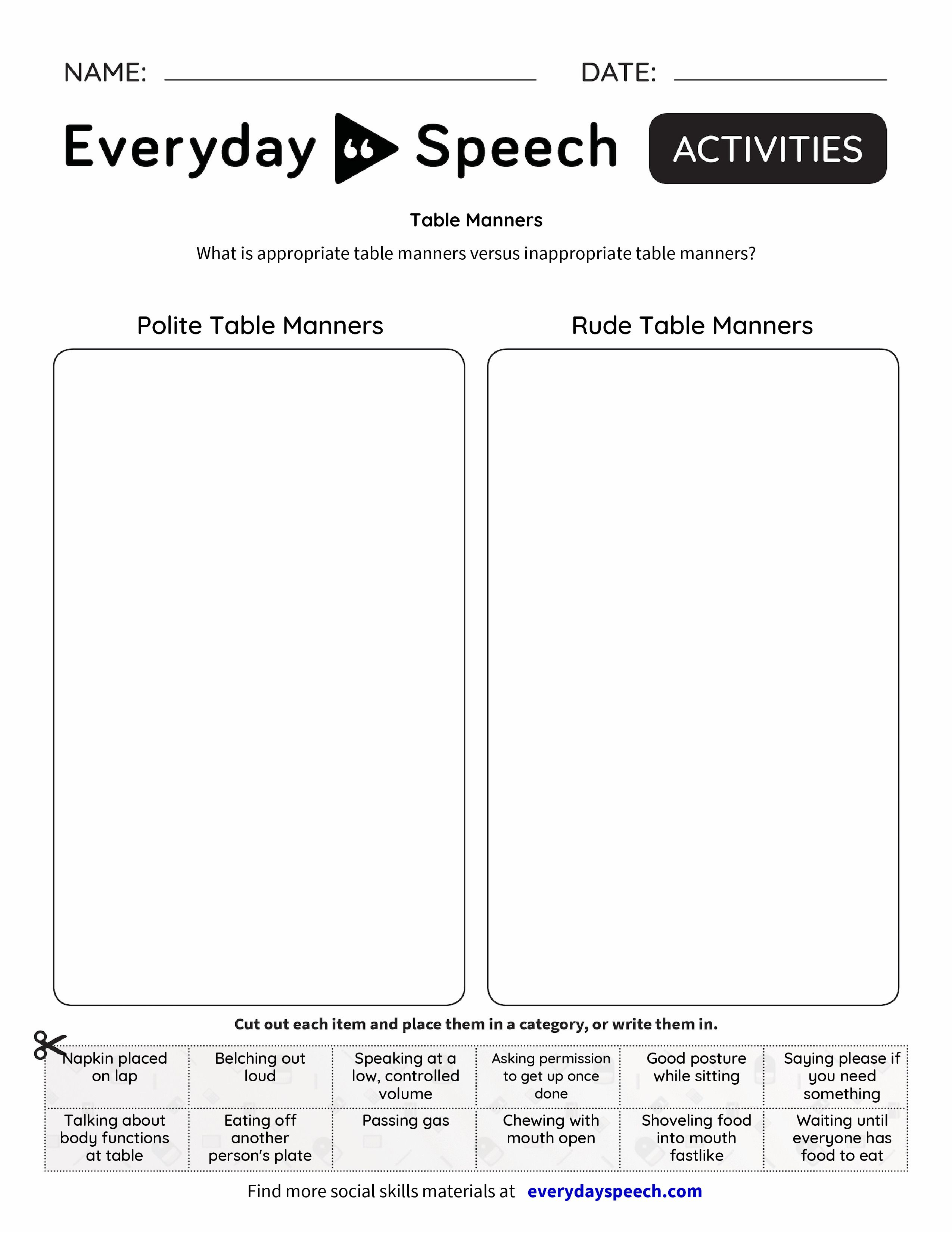 Image Result For S Everydayspeech Wp