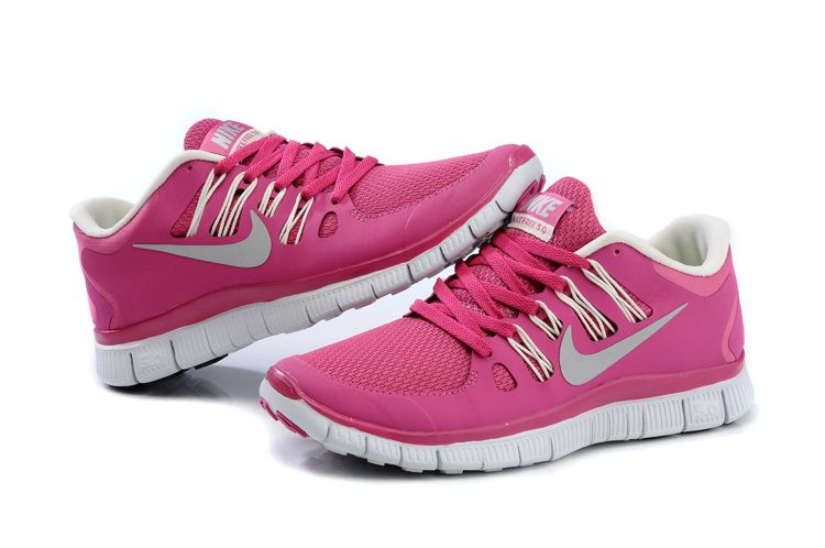 Femmes Nike Free 5.0 Trainer Course Rose