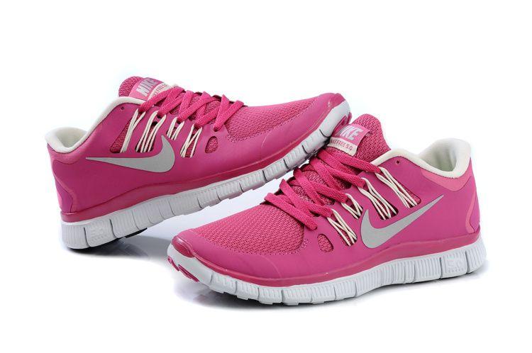 nike womens free 5.0 running trainer pink