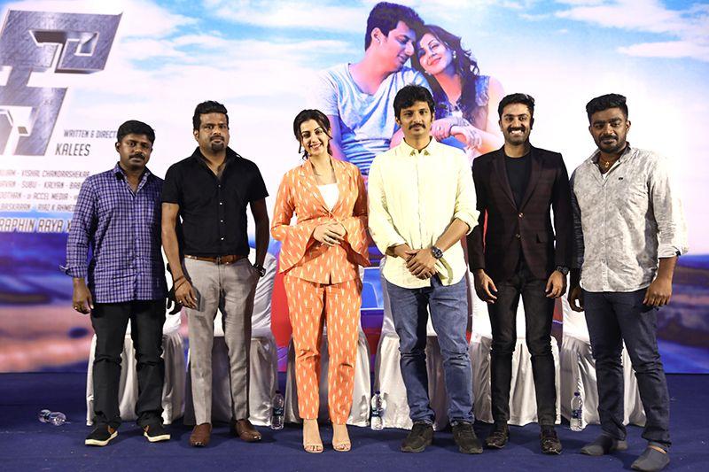 Jiiva & Nikki Galrani Speech At Kee Movie Press Meet