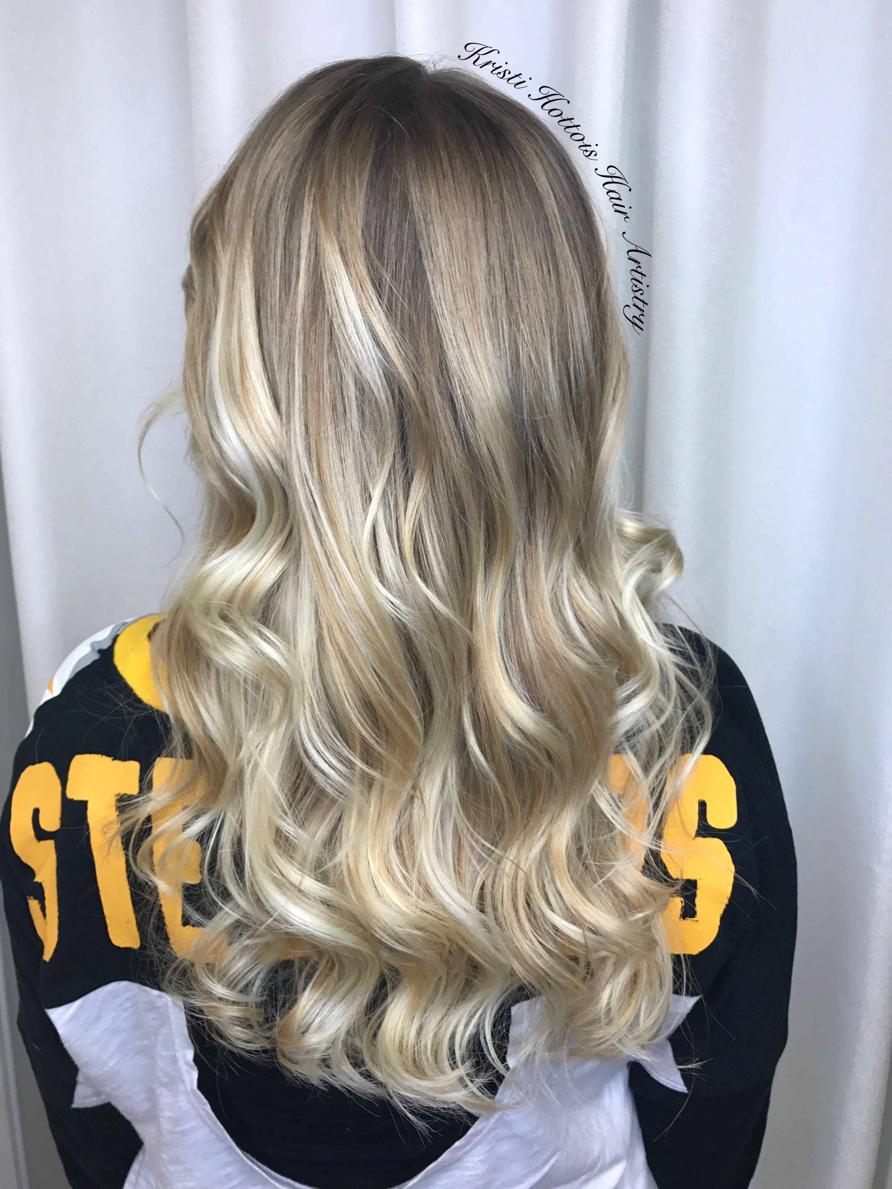 Ballayage Blond destiné winter blonde balayage somber highlights using my favorite oligo