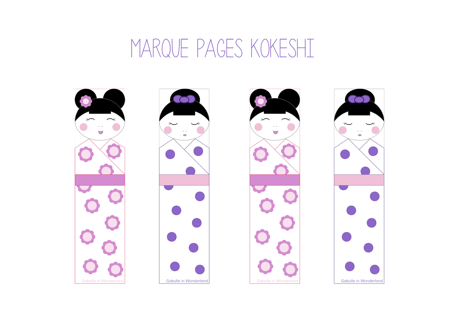 marque page animaux kawai DIY hobbies Pinterest