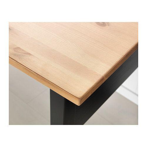 Ikea Arkelstorp Black Desk Ikea Arkelstorp Ikea Desk Ikea Solid Wood I Solid Wood Desk