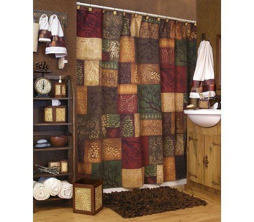 Shower Curtain Adirondack Pine By Blonder 37 99 The Shower