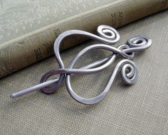 Unfurling Tulpe Blume Leier Aluminium Schal Pin, Stift ...