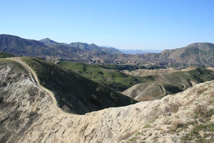 Hulda Crooks Park in Loma Linda, great hiking trails, great workout.