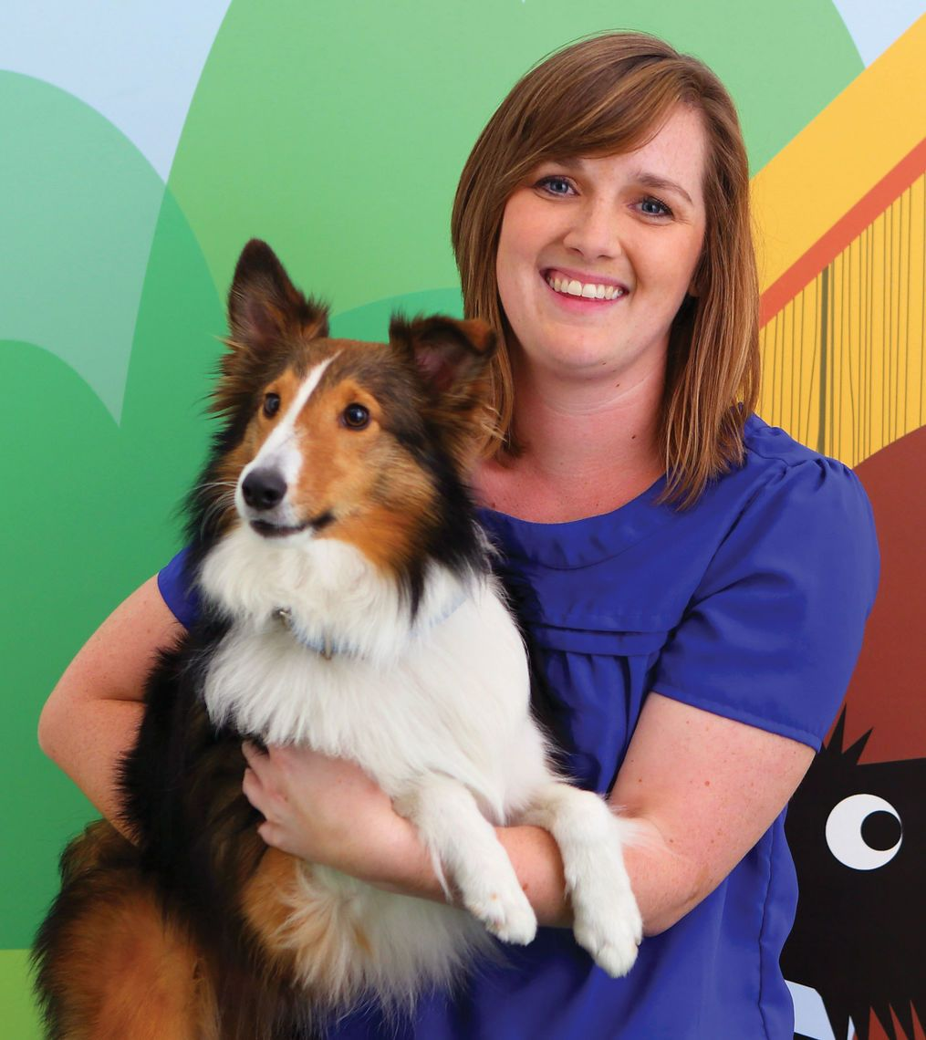 Emily Colburn teaches in both the Digital Media for Print