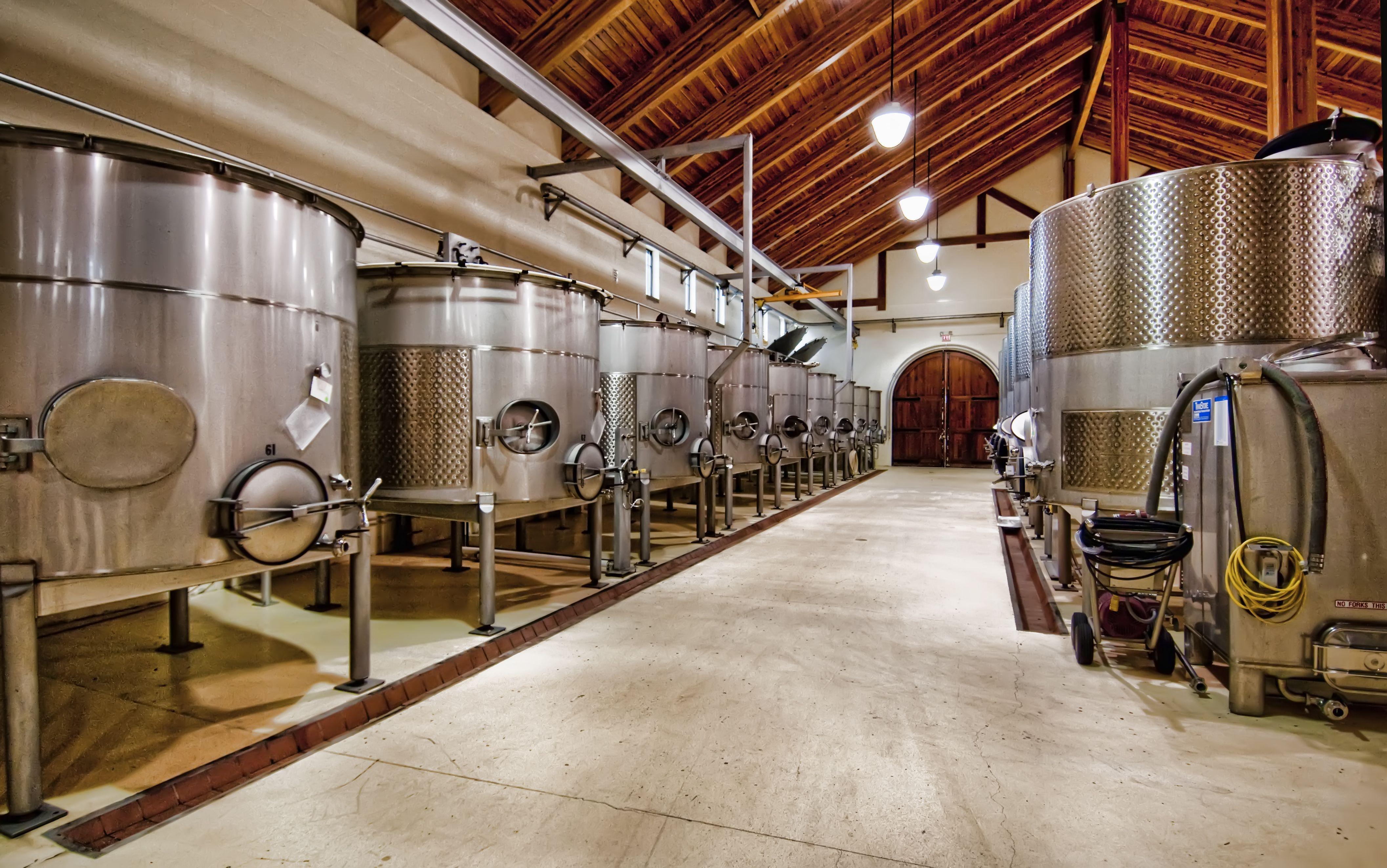 King Estate Winery Fermentation Wing