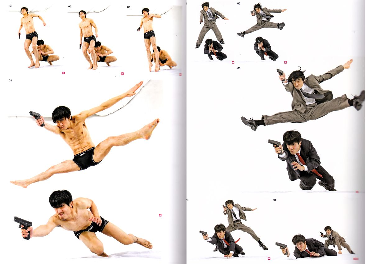 Real Action Pose Collection Vol 2 Buddy Action Reference Book