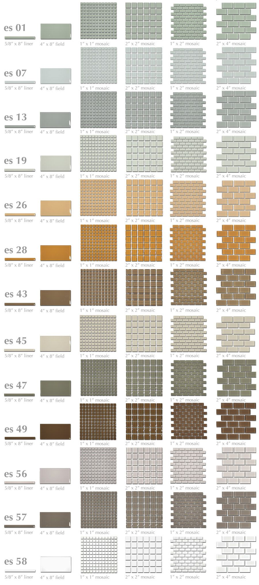 Kitchen Backsplash Color Is Es 56 2x4 Moda Vetro Single