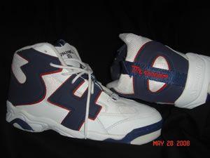 Spalding Brand Shoes- Hakeem Olajuwon