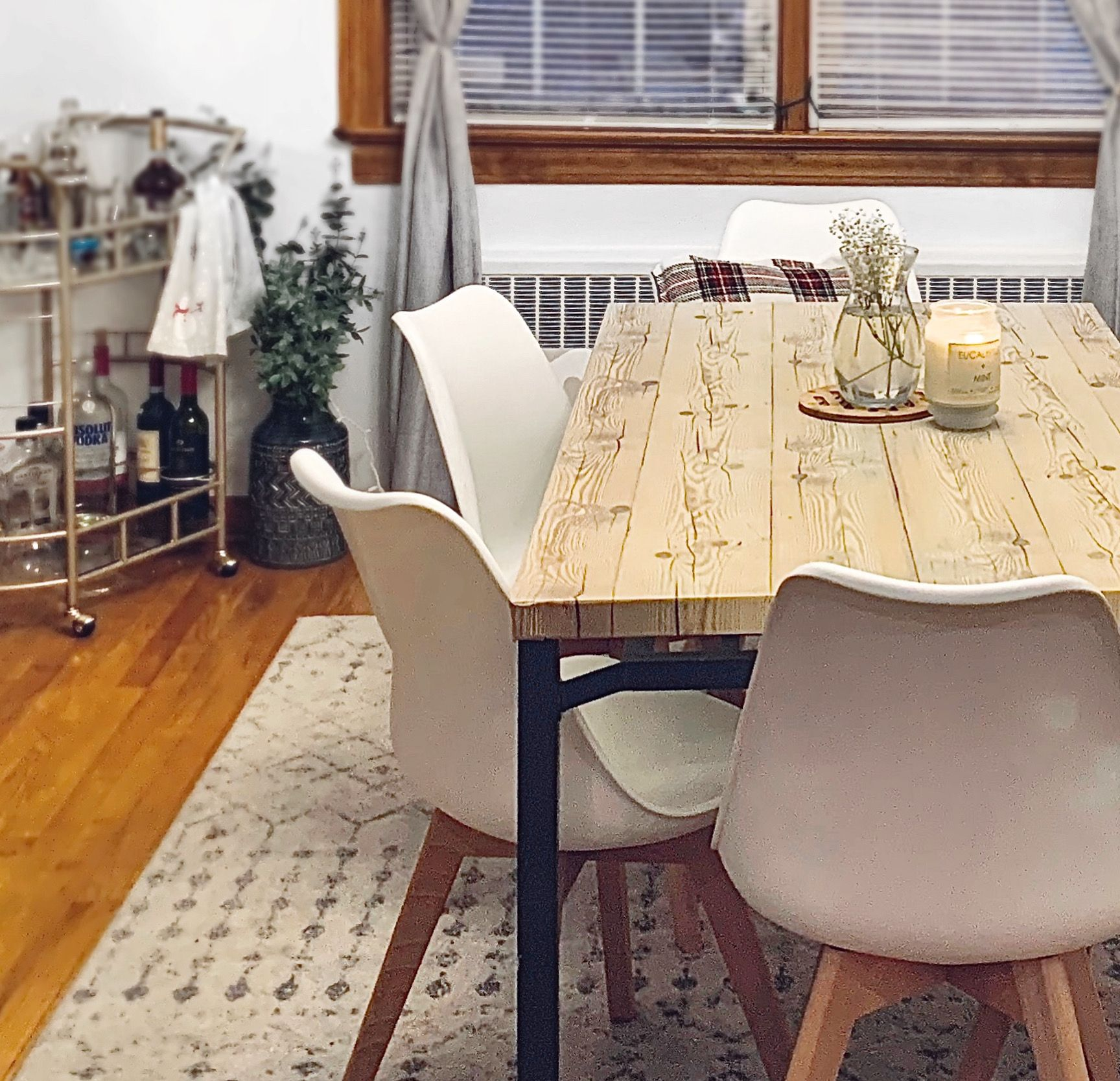 Diy Scandinavian Dining Table For 15 Before And After Youtube In 2020 Scandinavian Dining Table Ikea Dining Table Ikea Dining