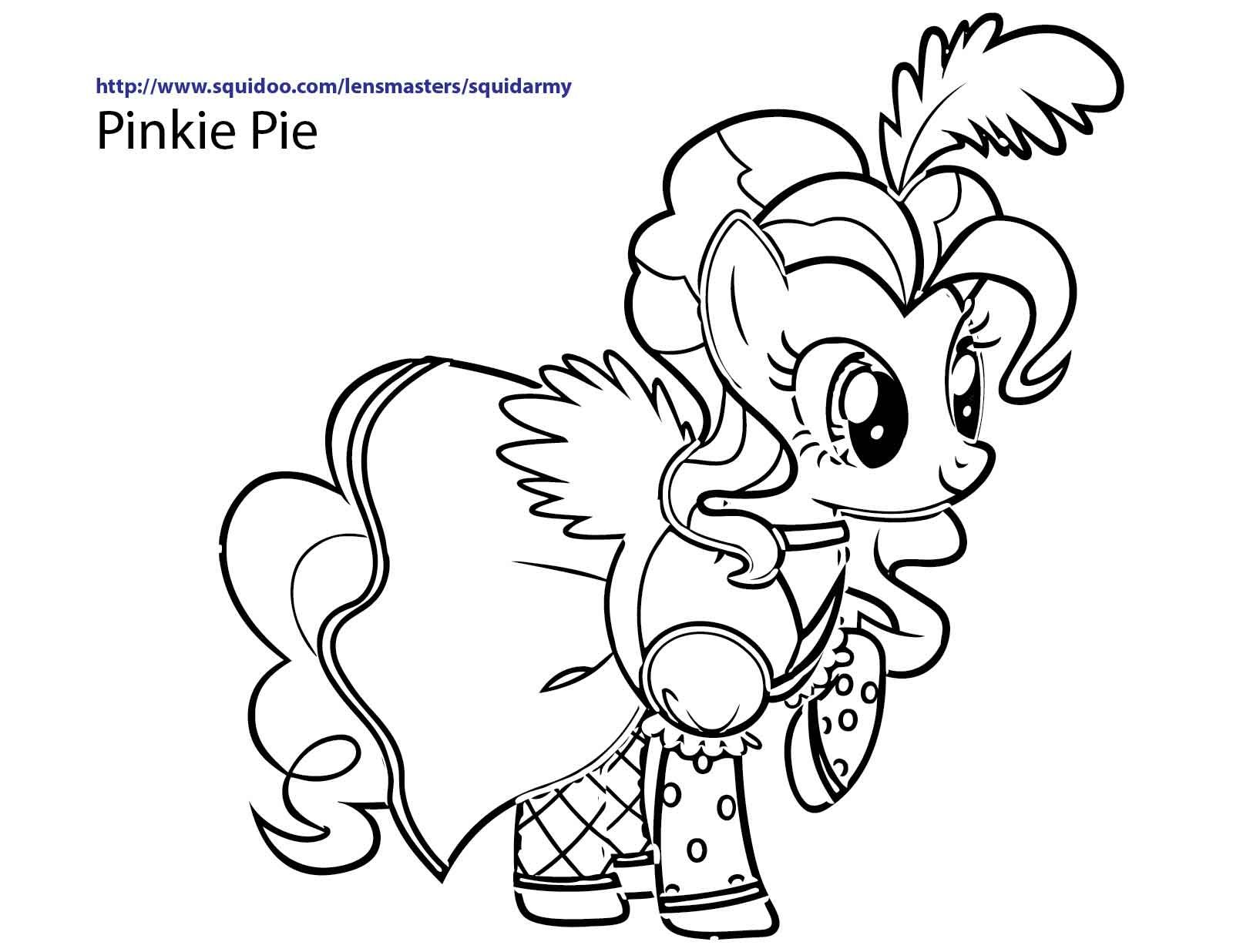 My little pony discord coloring pages - My Little Pony Coloring Pages