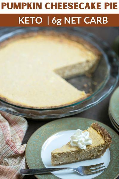 Easy Keto Pumpkin Cheesecake Recipe