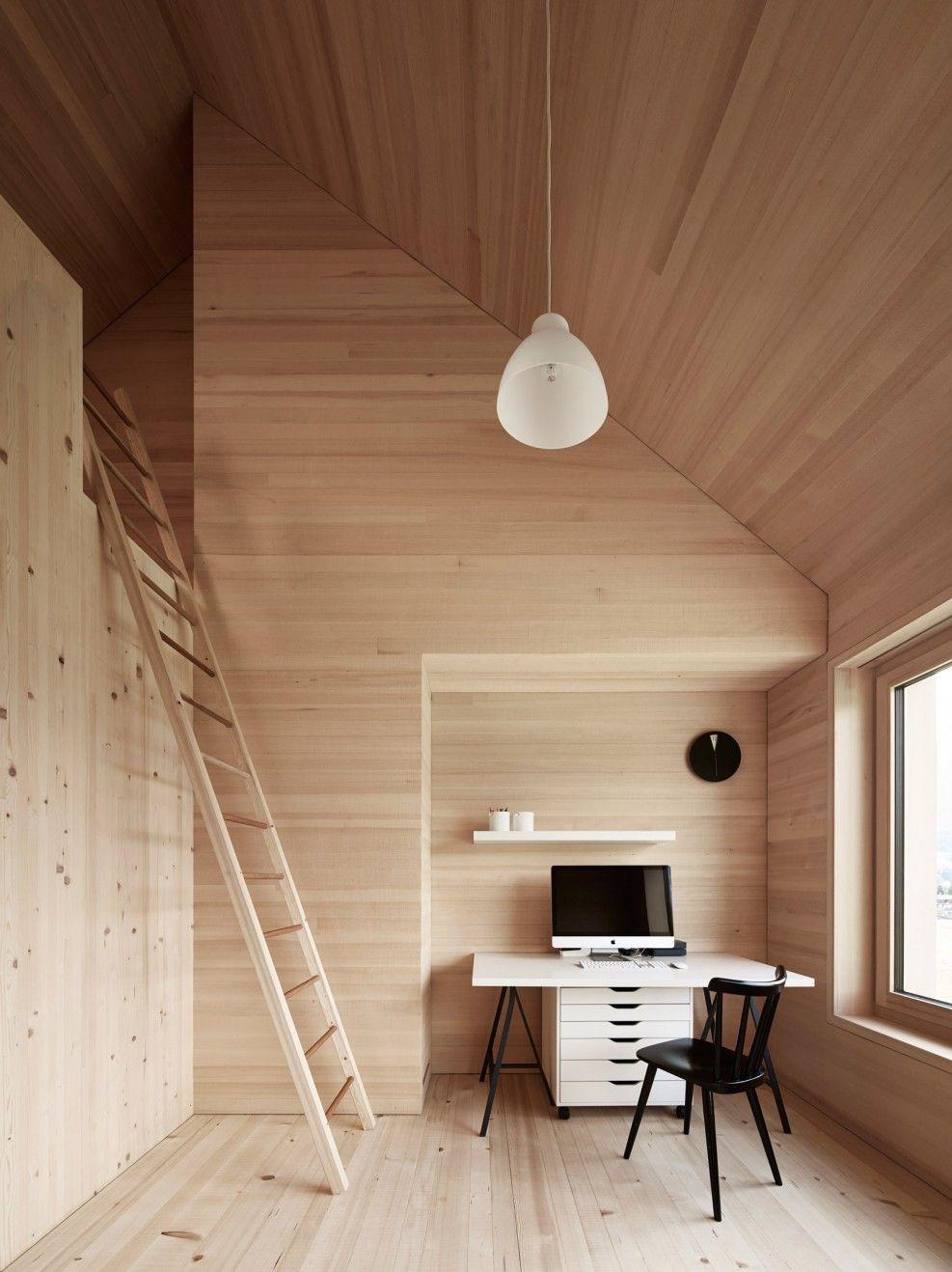 Maison En Bois Pour Julia Et Bj Rn En Autriche Par Les Architectes  # Maison Meble En Bois