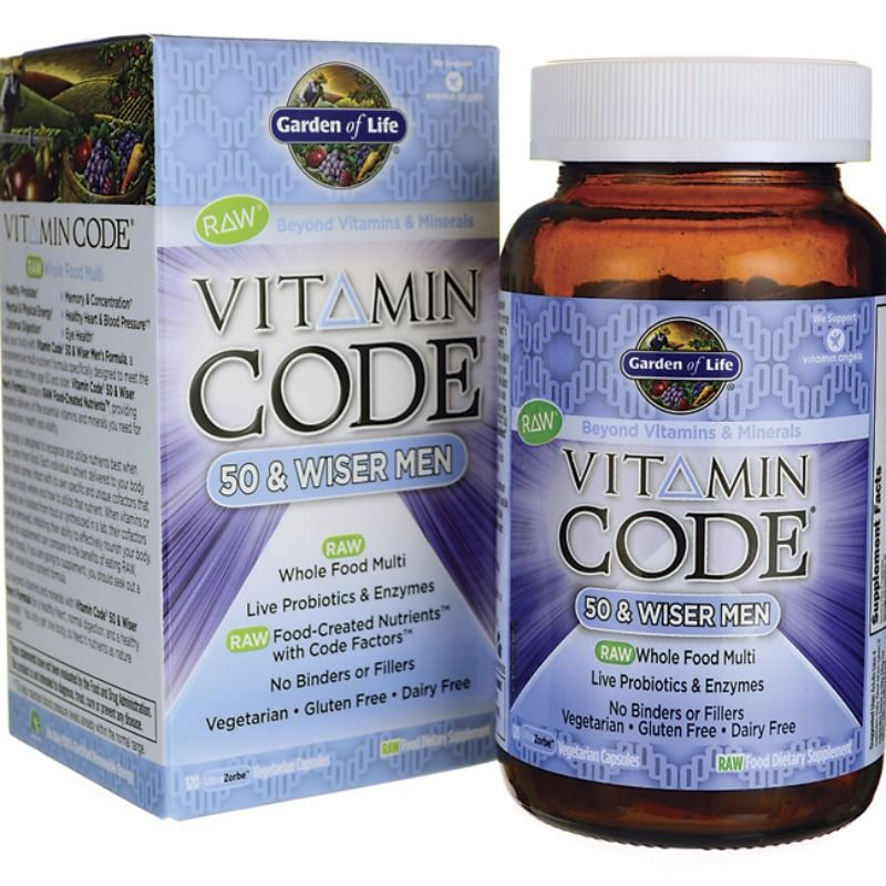 one code vcaps life raw bodybuilding vitamin for and men of garden