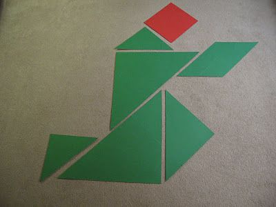Using Tangrams to teach the birth of Christ-NT