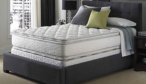 King Serta Perfect Sleeper Hotel Sapphire Suite Ii Plush Pillow