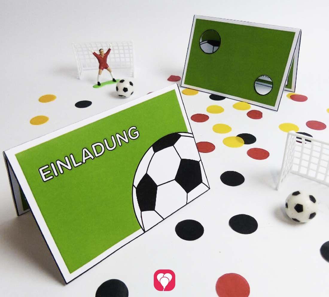 Basteln Fussball Geburtstag