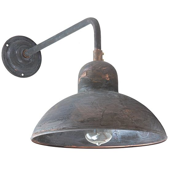 German Bauhaus Design Sconce Solingen Ro 140 Patina By Bolich