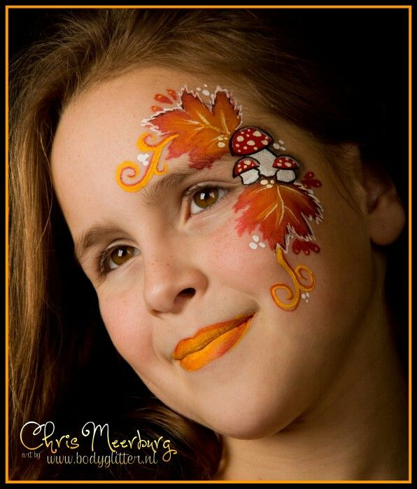 Autumn Christmas Face Painting Face Painting Face Painting Halloween