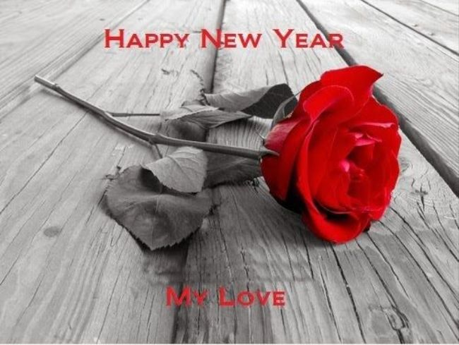 Happy New Year Love You Wallpaper 2018 Red Roses Rose Wall Art Pictures