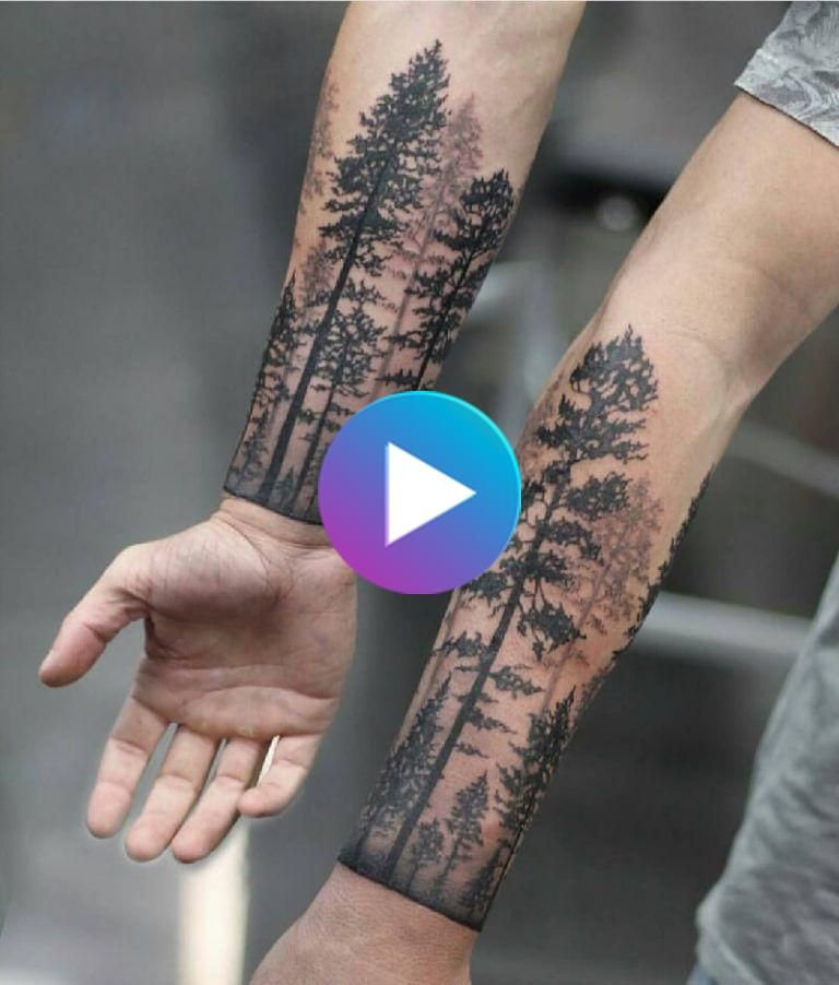 Tree Tattoo Design Forest Ink Ideas As A Symbol Of Life Knowledge In 2020 Wrist Tattoos For Guys Unique Wrist Tattoos Tree Tattoo Designs