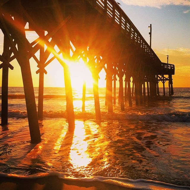 14th Avenue Pier Myrtle Beach South Carolina One Of 8 Piers In The