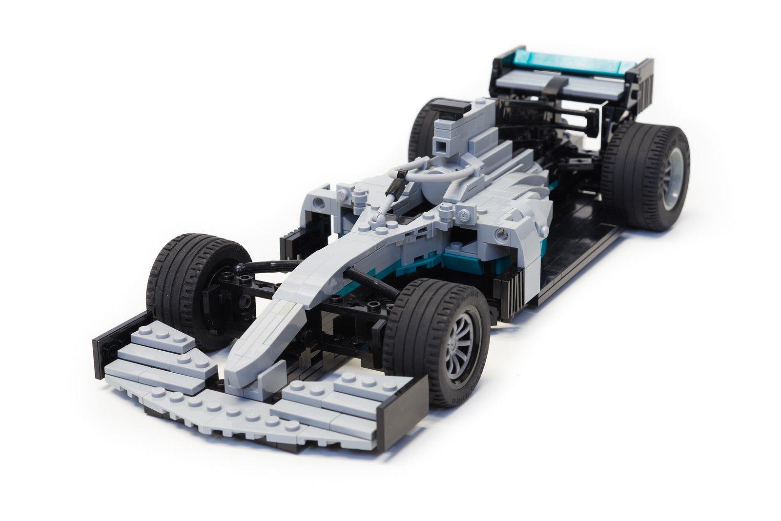 Mercedes Amg F1 W10 Eq Power 1 In 2020 Lego Cars Lego Mercedes Amg