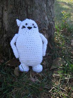 "Muta from ""The Cat Returns"" by Hayao Miyazaki ~ free pattern"