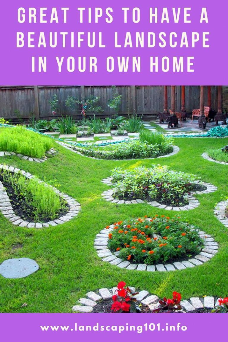 landscaping tips that will save you frustration