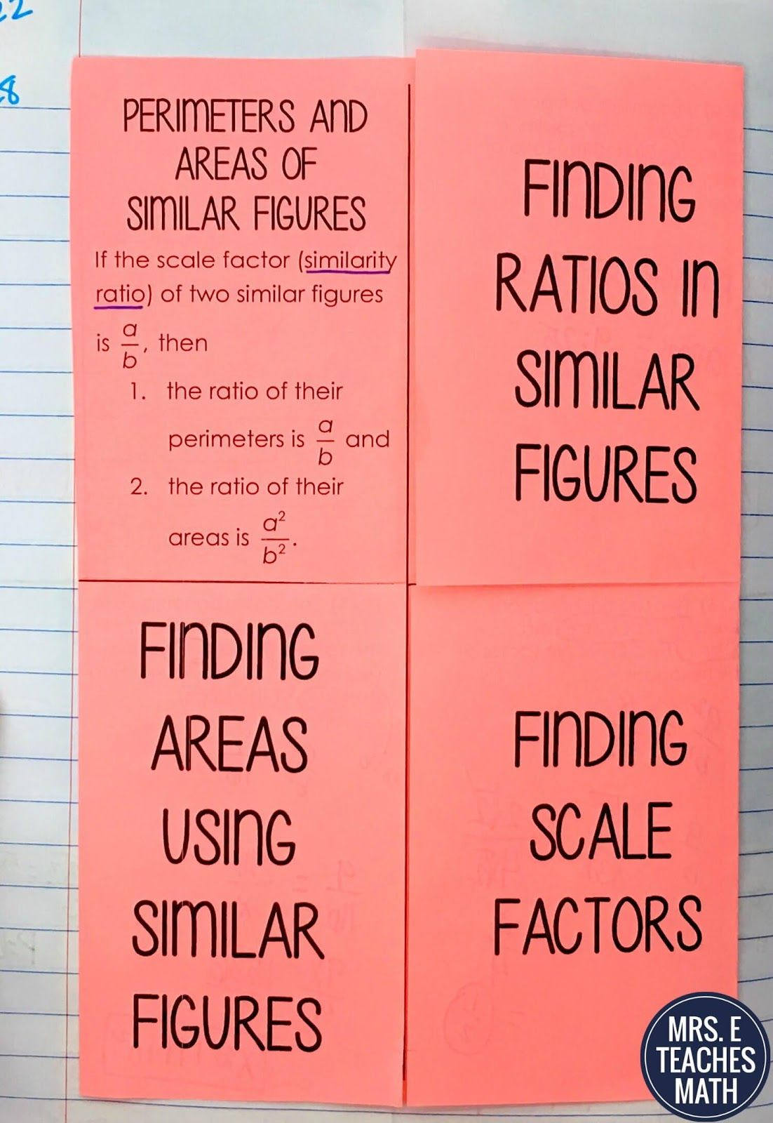 Similar Figures And Proportions Worksheet