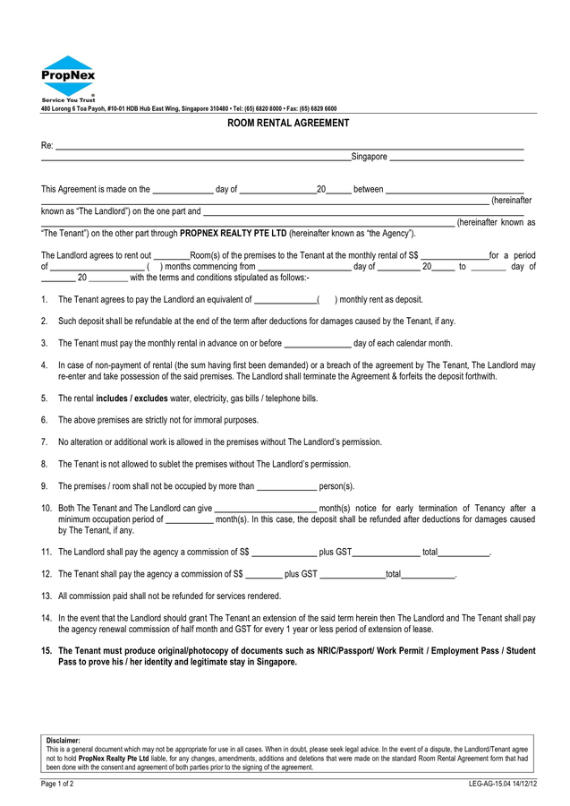 room rental agreement civil lab technician resume sample template cv student format docx free download