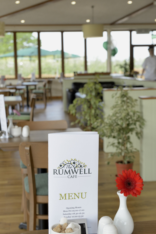 Rumwell Cafe. Cafe menu, Sunday carvery, Cafe