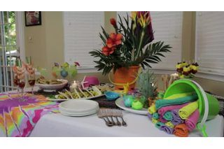 Indoor Beach Party Games With Images Beach Party Decorations